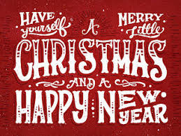 yourself a merry and a happy new year