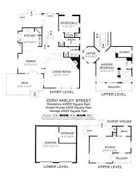 house plans with detached garage and guest