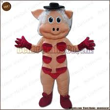 Breast Halloween Costume Breast Pig Mascot Costume Ems Cheap Quality Carnival Party