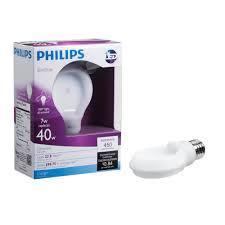 philips 433219 40 watt equivalent slimstyle a19 led light bulb
