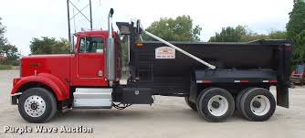 kenworth w900 heavy spec for sale 1985 kenworth w900 dump truck item dc5308 thursday octob