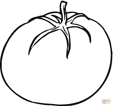 tomato 4 coloring page free printable coloring pages