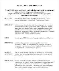 ready resume format i need a resume format i need resume format unique i need