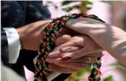 celtic handfasting cords handfasting ceremony st louis wedding chapel handfasting