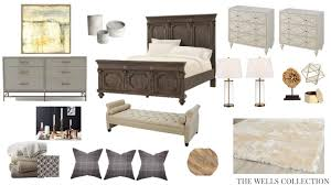 Master Bedroom Design Boards The Wells Collection Romantic Master Design Boards