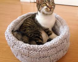 wool cat bed etsy