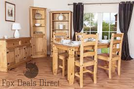 Mexican Dining Room Furniture Pine Chairs Pair Of Dining Room Solid Wood Premium Corona Mexican