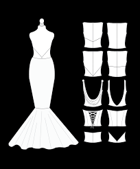 design your own wedding dress design your own deerhobbes bridal