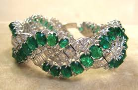 diamond emerald bracelet images Bijan co jpg