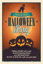 free printable halloween invitation templates greetings island