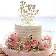 wedding cake kelapa gading fresh flower buttercream cake chocolique