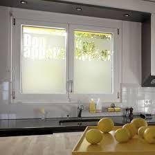 stickers pour fenetre cuisine sticker dépoli pour fenêtre bon appé fenêtre