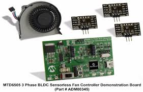 fan with usb connection mtd6505 3 phase bldc sensorless fan controller demonstration board