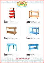 Uma Table L Uma Plastics Limited Kolkata Plastic Chairs
