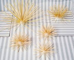 Gold Wall Decor at Home and Interior Design Ideas