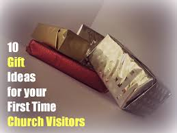 10 gift ideas for church visitor welcome packets or folders