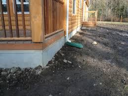 duraskirt solves the skirting problems for log cabins duraskirt