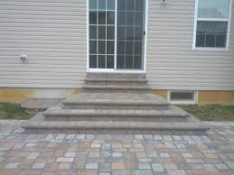 Raised Patio Construction Hardscaping