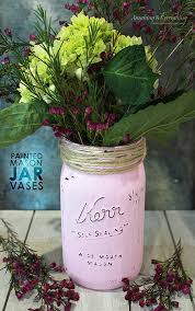 jar vases painted jar vase gift for s day anything