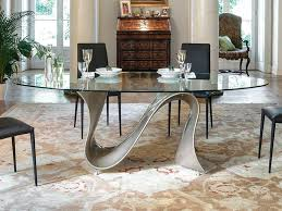 oval glass top dining table u2013 mitventures co