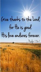 psalms 136 1 thanksgiving to god for his enduring mercy 1 oh give