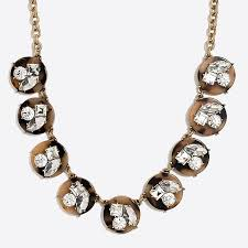 crystal necklace statement images Tortoise crystal statement necklace factorywomen necklaces factory 1,0,0
