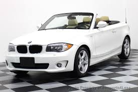 used bmw 1 series convertible 2013 used bmw 1 series certified 128i convertible premium cold