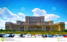 Der Haus Oder Das Haus Bukarest Rumänien Juni 2015 Rumänisches Parlament Oder Das