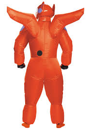 Inflatable Halloween Costumes Adults Red Baymax Inflatable Costume Adults