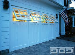 Awning Style Windows Real Carriage Doors With Awning Style Windows For A Garage