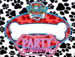 instant download paw patrol food labels partyheadquarters