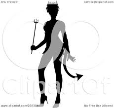 royalty free rf clipart illustration of a black silhouette of a