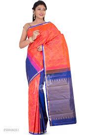 rani pink colour buy pink sarees online nalli com