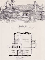 Fantasy Floor Plans Colonial Revival Cottage 1926 Universal Plan Service No 586