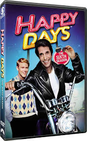 happy days dvd news box for happy days the 6th season