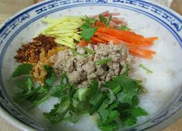 cuisine home ข าวต มหม ส บ rice porridge with minced pork cook eat home by