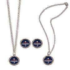 jewelry set women s houston astros wincraft 2017 world series chions