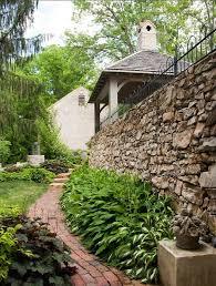 best 25 stone wall gardens ideas on pinterest nichols and stone