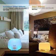 Schlafzimmer Kalte Farben Aroma Diffuser 500ml Innoocare Diffusor Luftbefeuchter Ultraschall
