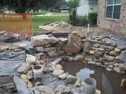 construction photos orlando central florida water garden experts