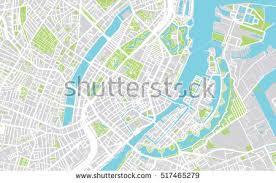 map of copenhagen city map copenhagen stock vector 517465279
