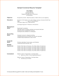 chronological format resume chronological resume format template