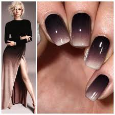 25 black ombre nails ideas nail designs easy