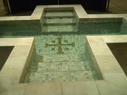 baptism pool the sacramental grace of baptism citizen of new jerusalem