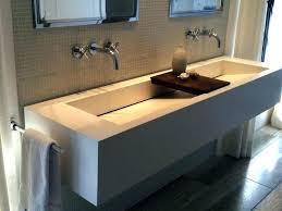 trough sink with 2 faucets trough sink with 2 faucets double faucet trough sink two faucet