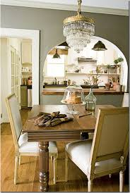 Love The Open Kitchen To Dining Room Looke Simple But Elegant Of