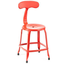 Red Metal Chair Nicolette Chair Metal Chairs Chairs Commercial Furniture
