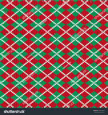 knit argyle pattern stock vector 343053860