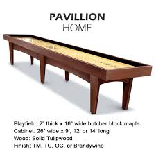 pavilion home shuffleboard