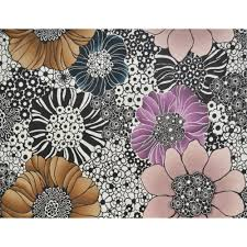 anemones wallpaper in pearl and black by missoni home for york